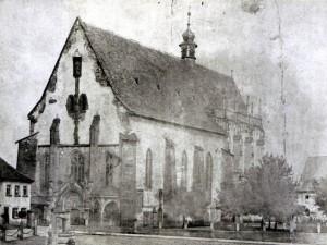 Ritterkapelle im 19. Jahrhundert
