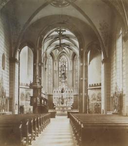 Innenraum im 19. Jahrhundert