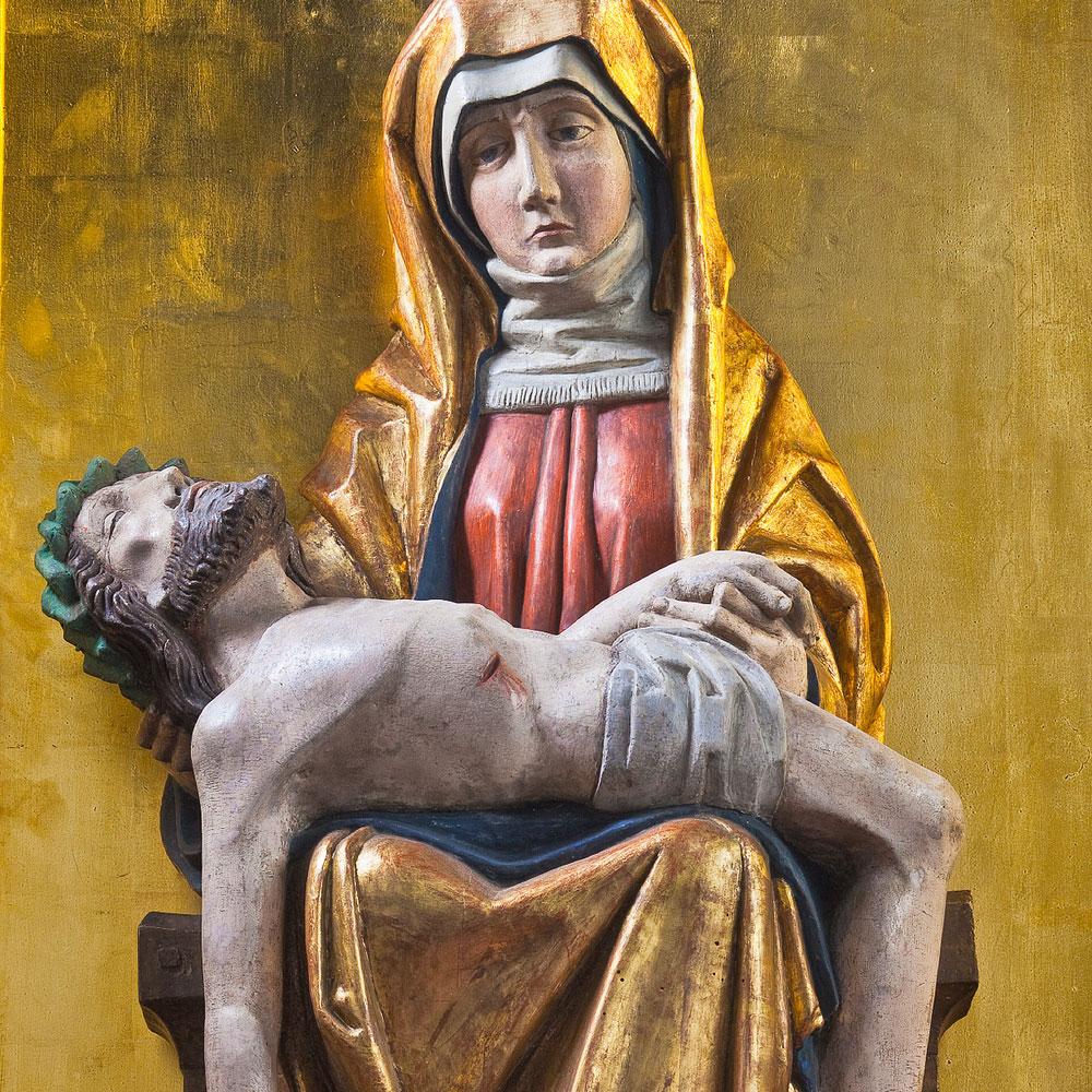 Die freudvolle Pietà